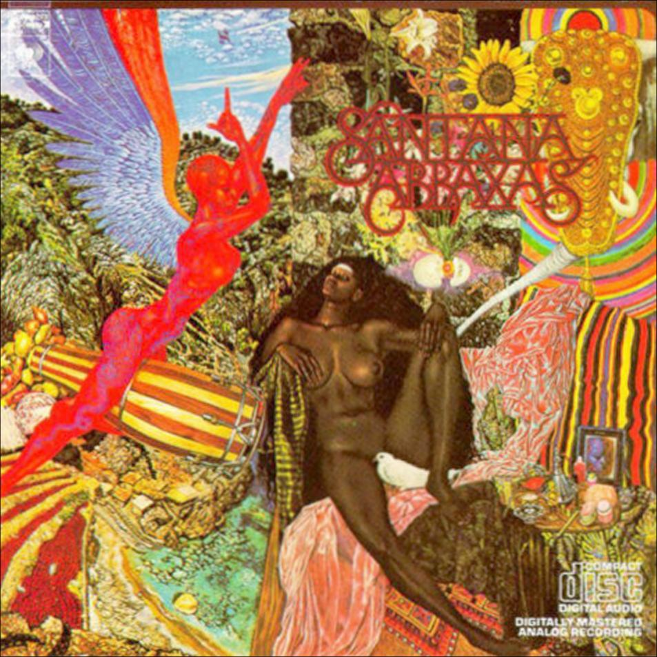 Santana - Abraxas (1970) - Front
